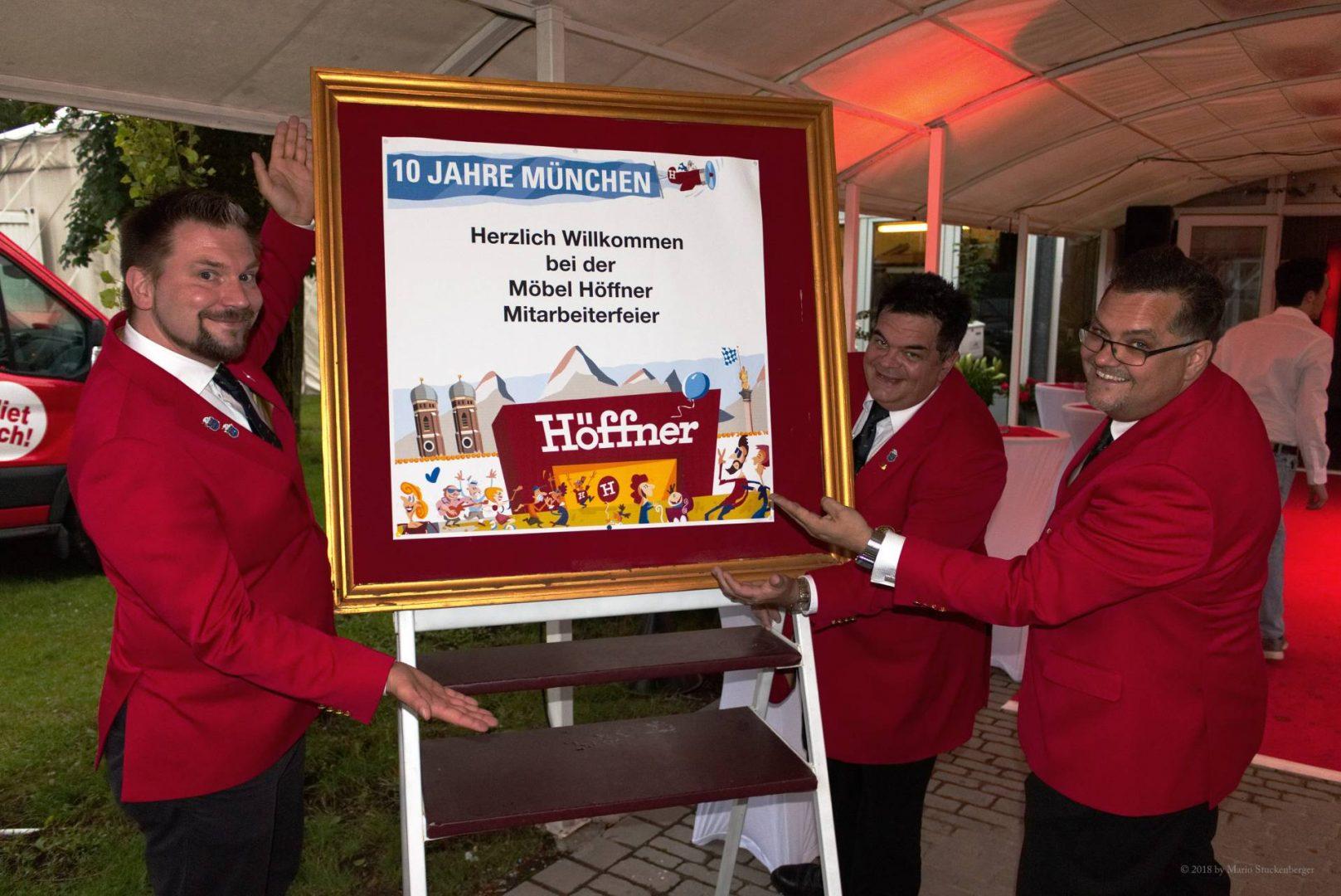 10 Jahre Möbel Höffner Narrhalla München Ev